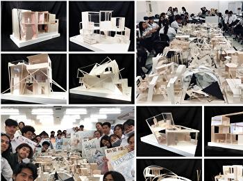 ARD1502 architecture design II Mini project 1 :Arrangement of house